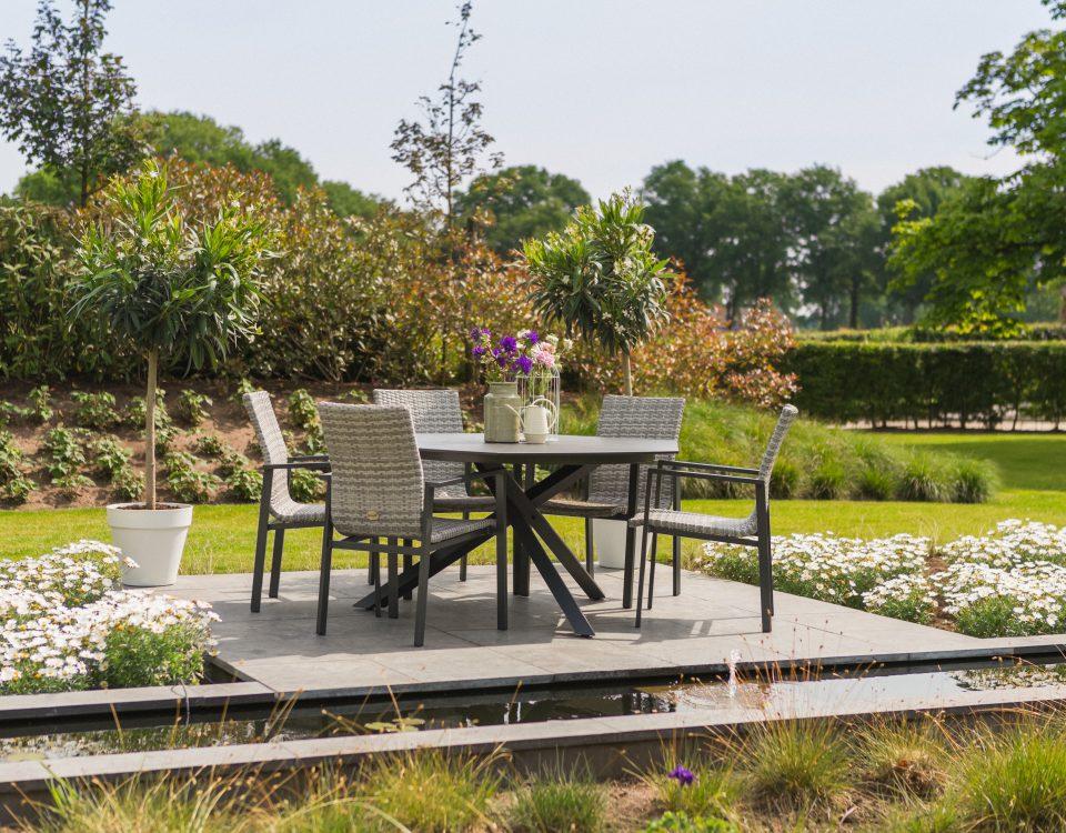 Hartman outdoor aqua-saar gartenmöbel stühle und tisch