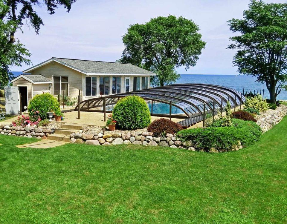 Elegant 266 USA poolüberdachung aqua-saar