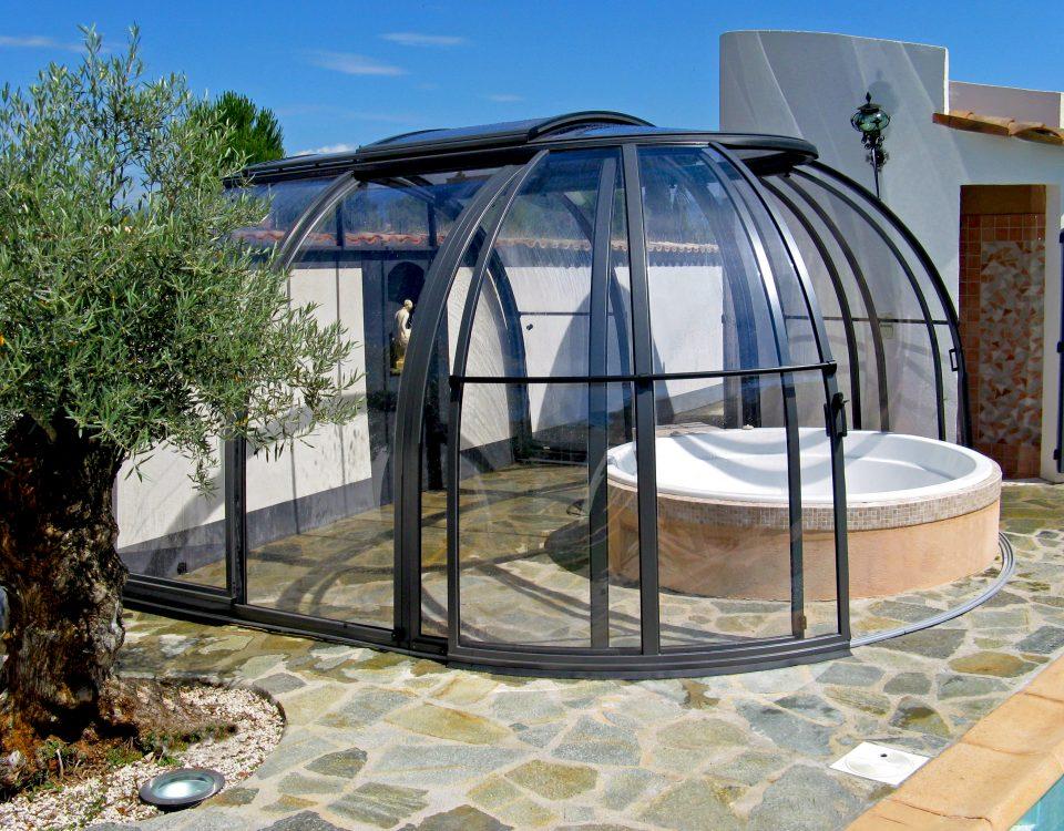 OASISTM Small 2 poolüberdachungen