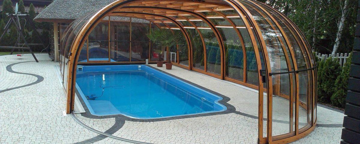 Olympic TM poolüberdachung