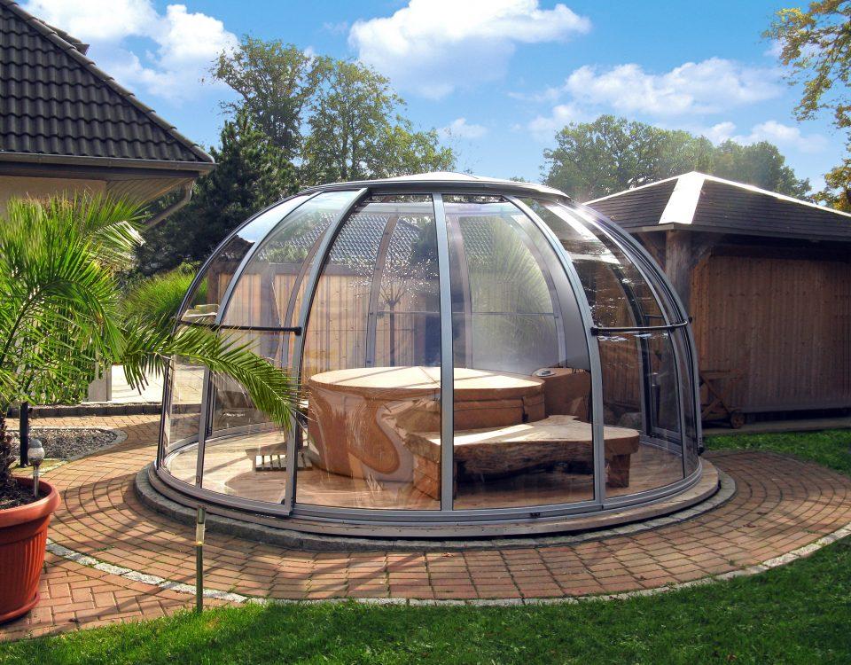 SPA Dome Orlando ® Small 107 CZ terrassenueberdachung aqua-saar