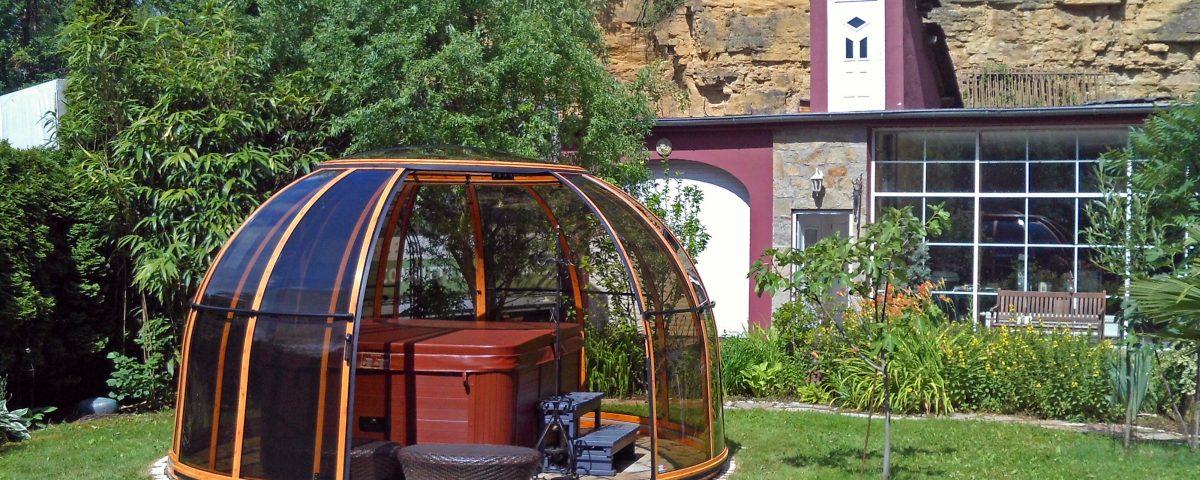 SPA Dome Orlando ® Small 122 terrassenueberdachung aqua-saar