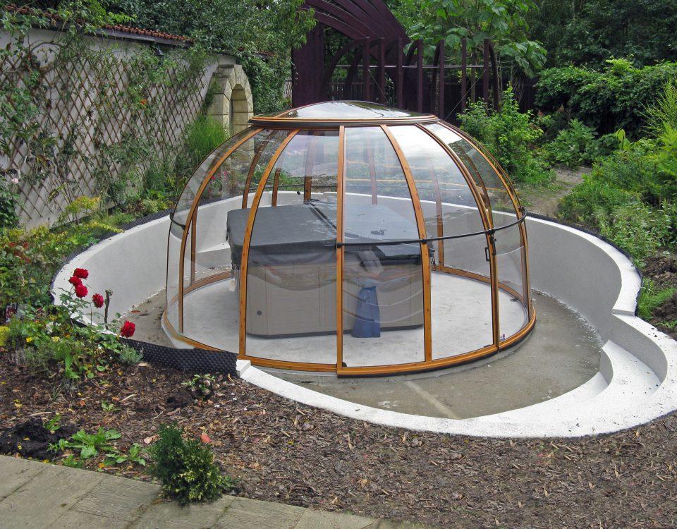 SPA Dome Orlando ® Small 61 CZ terrassenueberdachung aqua-saar