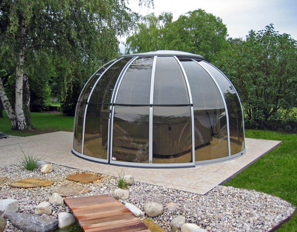 SPA Dome Orlando ® Small 72 A 1 terrassenueberdachung aqua-saar