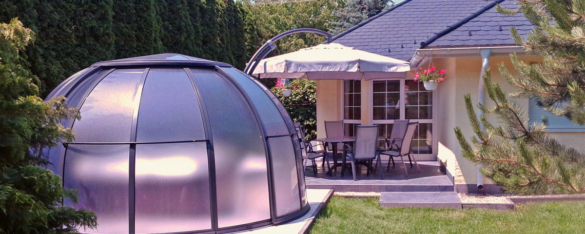 SPA Dome Orlando ® Small 85 HU 1 terrassenueberdachung aqua-saar