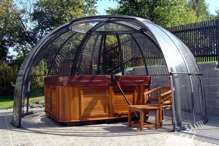 Alukov Spa Ueberdachungen Dome Orlando