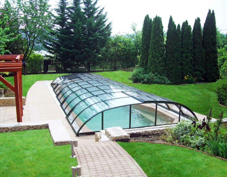 Elegant Neo 25 poolüberdachung