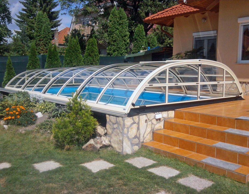 Elegant Neo 83 poolüberdachung