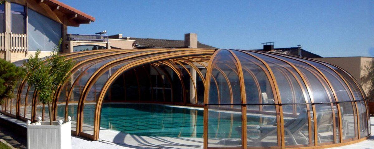 Olympic 10 poolüberdachung