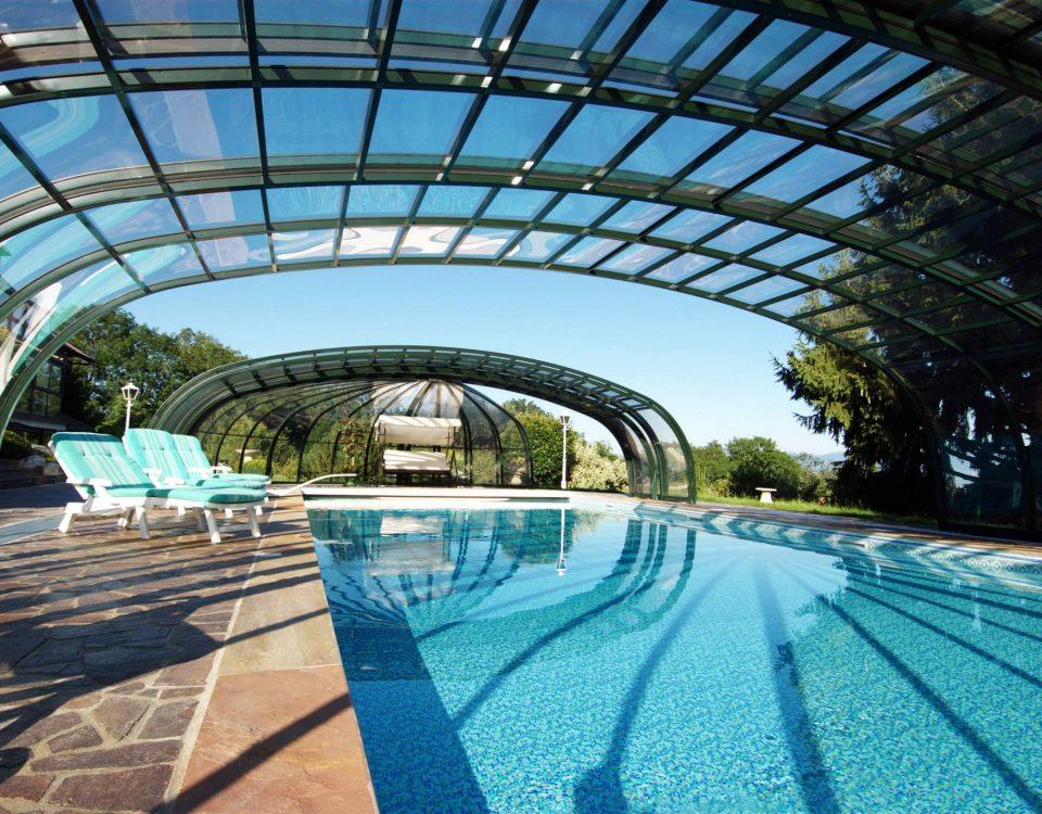 Olympic 6 poolüberdachung
