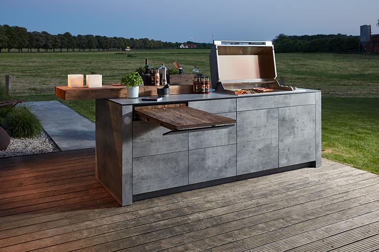 bbqtion outdoorküche insellösung aqua-saar